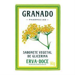 Imagem 1 do produto Sabonete Glicerina Granado Erva-Doce 90g