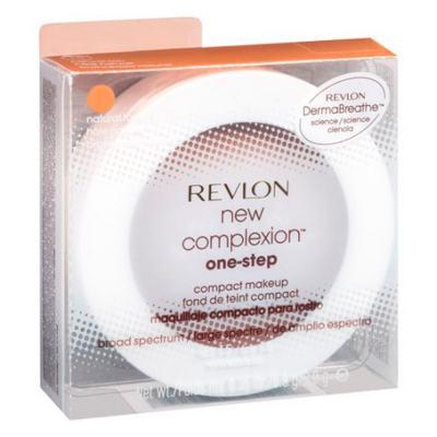 Imagem 4 do produto New Complexion One-Step Compact Makeup Revlon - Pó Compacto - Natural Beige