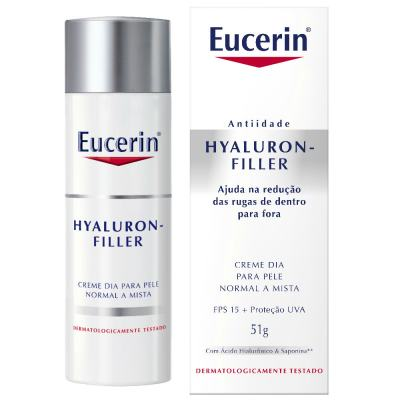 Creme Anti-idade Facial Eucerin Hyaluron-filler Dia Fps 15 51g