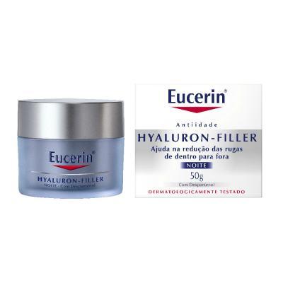Creme Anti-idade Facial Eucerin Hyaluron-Filler Noite 50g
