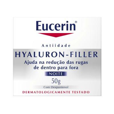 Imagem 3 do produto Creme Anti-idade Facial Eucerin Hyaluron-Filler Noite 50g
