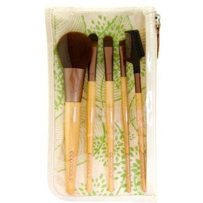 Imagem 1 do produto Six Piece Starter Set Ecotools - Kit de Pincéis para Maquiagem - Kit