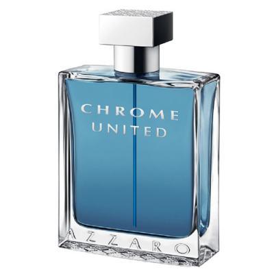 Chrome United Azzaro - Perfume Masculino - Eau de Toilette - 30ml