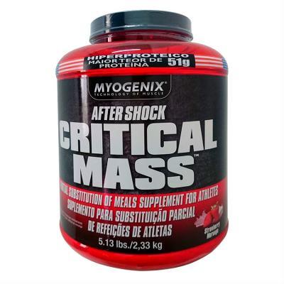 Critical Mass 2,33kg - Myogenix - Morango