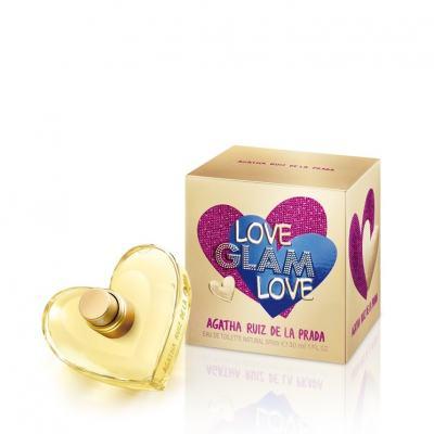Love Glam Love By Agatha Ruiz De La Prada Feminino Eau De Toilette - 80ml