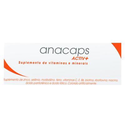 Imagem 2 do produto Anacaps Activ+ Ducray - Suplemento Antiqueda Capilar - 30 Cáps