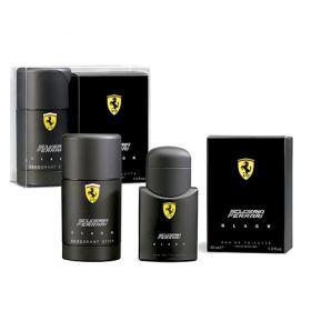 Scuderia Ferrari Black Ferrari - Masculino - Eau de Toilette - Perfume + Desodorante - Kit