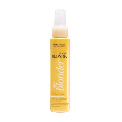 Imagem 1 do produto John Frieda Sheer Blonde Go Blonder Controlled Lightening Spray - Fluido Iluminador - 103ml
