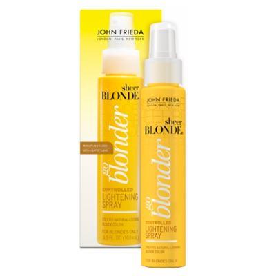 Imagem 2 do produto John Frieda Sheer Blonde Go Blonder Controlled Lightening Spray - Fluido Iluminador - 103ml