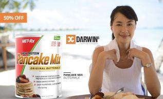 Café da manhã saudável e cheio de proteínas