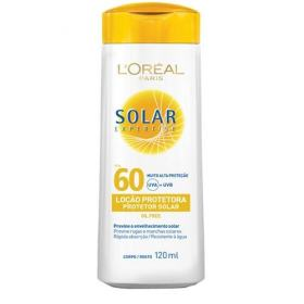 Protetor Solar L'Oréal Paris Solar Expertise Loção Protetora FPS 60 - 120ml