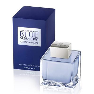 Imagem 1 do produto Antonio Banderas Blue Seduction Eau De Toilette Masculino - 200 ml