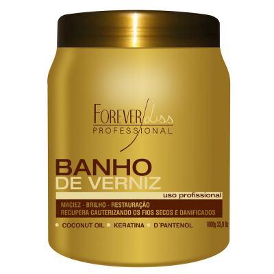 Forever Liss Banho de Verniz Brilho Hidratante - Máscara Capilar - 1Kg