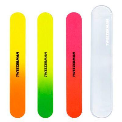 Neon Filemates Tweezerman - Lixa de Unha - Kit