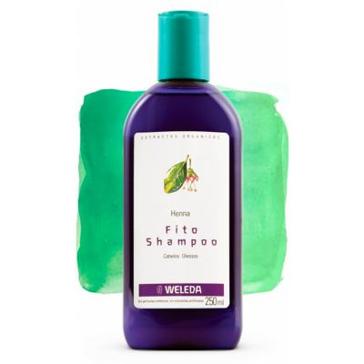 Imagem 2 do produto Weleda FitoShampoo Henna - Shampoo - 250ml