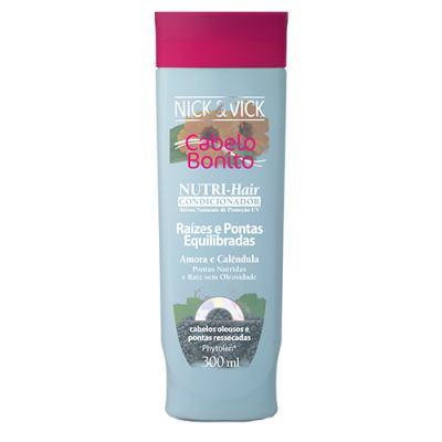 Imagem 3 do produto Kit Shampoo + Condicionador Nick & Vick Nutri-Hair Raízes e Pontas Equilibradas - Kit