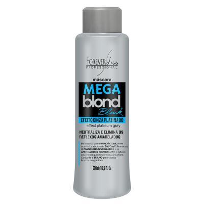 Imagem 1 do produto Forever Liss Mega Blond Black - Máscara Matizadora - 500ml
