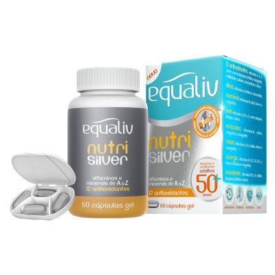 Imagem 1 do produto Nutri Silver Equaliv - Multivitamínico - 60 Cáps