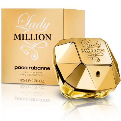 Lady Million Paco Rabanne Feminino Eau De Parfum - 50 ml