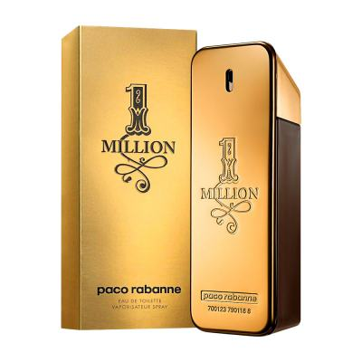 1 Million De Paco Rabanne Eau De Toilette Masculino - 100 ml
