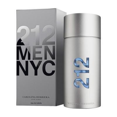 212 Men De Carolina Herrera Eau De Toilette Masculino - 100 ml