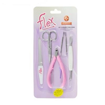 Imagem 2 do produto Kit de Cuidado para Unhas Flex 151-FL Mundial - Kit