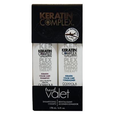 Imagem 1 do produto Kit Keratin Complex Smoothing Therapy Keratin Color Care Travel Valet - Kit