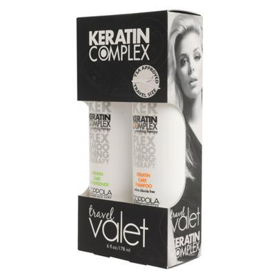 Kit Keratin Complex Smoothing Therapy Keratin Care Travel Valet - Kit