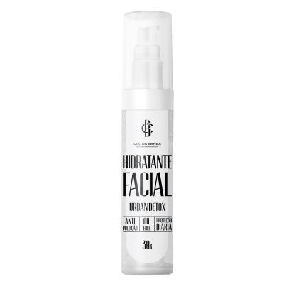Hidratante Urban Detox Cia Da Barba - Hidratante Facial - 30g