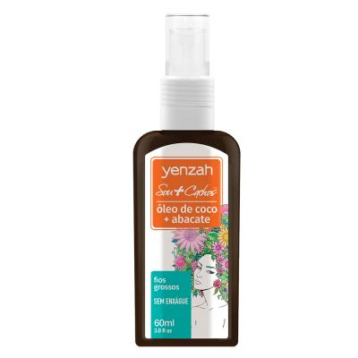 Yenzah Sou + Cachos Finalizador -  óleo De Coco E Abacate - 60ml