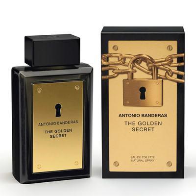 The Golden Secret Antonio Banderas - Perfume Masculino - Eau de Toilette - 30ml