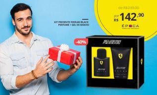 Presente de Natal para Eles: Kit Scuderia Ferrari Black