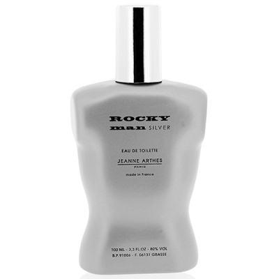 Rocky Man Silver Jeanne Arthes - Perfume Masculino - Eau de Toilette - 100ml