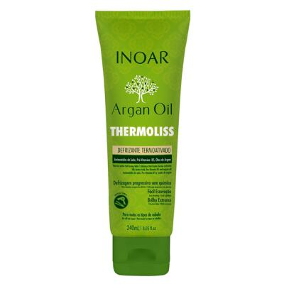 Inoar Argan Oil Thermoliss Desfrizante Termoativado - Balsámo Antifrizz - 240ml