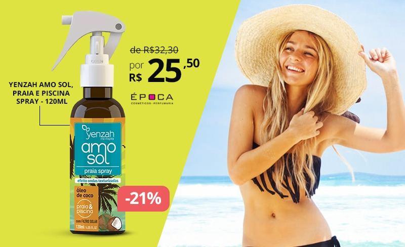 Yenzah AMO Sol, proteção e hidratação para os cabelos