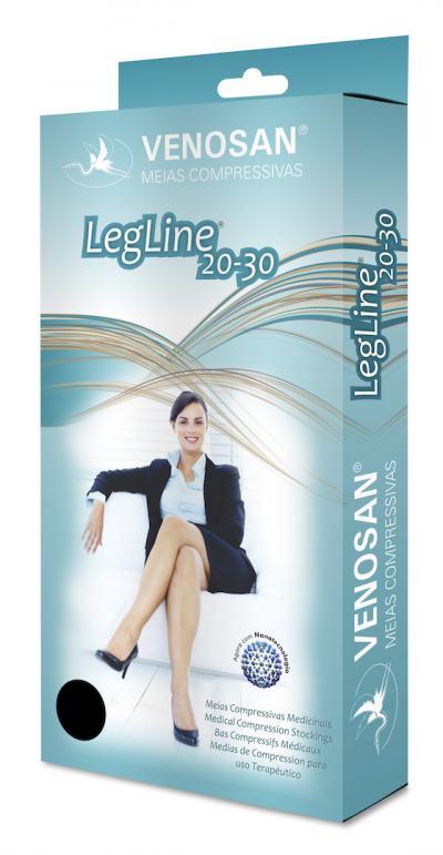 Imagem 1 do produto Meia Calça para Gestante ATM 20-30 Legline Venosan - PONTEIRA FECHADA OLINDA P