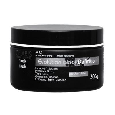Imagem 1 do produto Charis Evolution Black Definition Mask Black - Máscara Capilar - 250ml