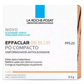 Effaclar Bb Blur La Roche Posay Uniformizador Antioleosidade Pó Compacto Cobertura Natural Clara
