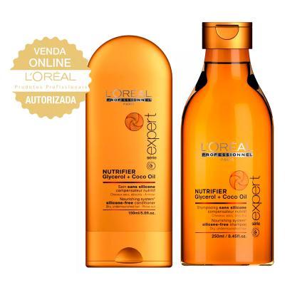 L'oréal Professionnel Nutrifier Química Kit- Shampoo + Condicionador - Kit