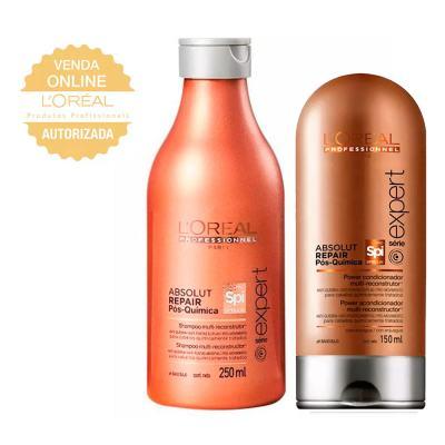 L'oréal Professionnel Absolut Repair Pós Química Kit- Shampoo + Condicionador - Kit