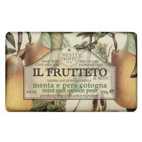 IL Frutteto Menta e Pêra Cotogna Nesti Dante - Sabonete Purificante - 250g