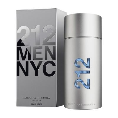 212 Men De Carolina Herrera Eau De Toilette Masculino - 200 ml
