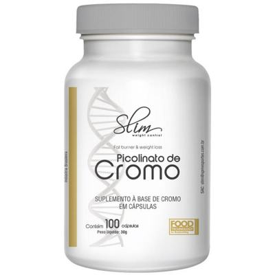 Picolinato De Cromo 100caps - Slim -