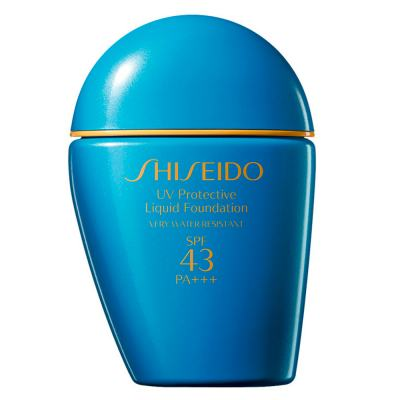 UV Protective Liquid Foundation SPF 43 Shiseido - Base para Rosto - Medium Ivory SP40 e 50