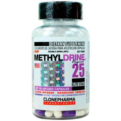 Methyldrine 60 Cápsulas - Clone Pharma