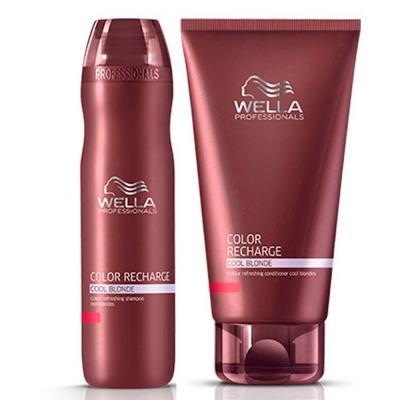 Imagem 2 do produto Wella Care Color Recharge Cool Blonde - Shampoo - 250ml