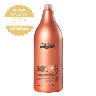 L'oréal Professionnel Absolut Repair Pós Química - Shampoo Reconstrutor - 1500ml