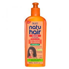 Skafe Natu Hair S.o.s Multipla Ação - Gel Redutor De Volume - 300ml