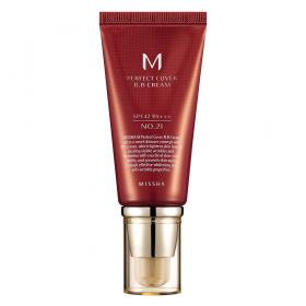 M Perfect Cover BB Cream 50ml Missha - Base Facial - 21 - Light Beige