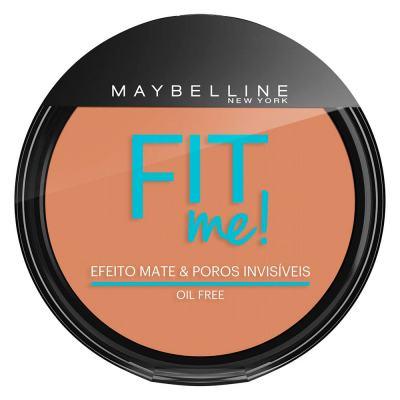 Fit Me! Maybelline - Pó Compacto para Peles Médias - 210 - Médio Verdadeiro